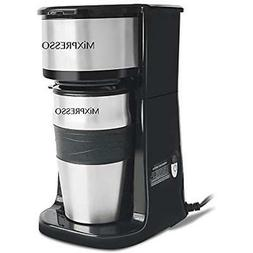 Ultimate Coffee Machines 2-In-1 Single Cup Maker & 14oz Trav