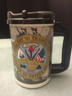 United States Army military Insulated Travel Mug. Made In US