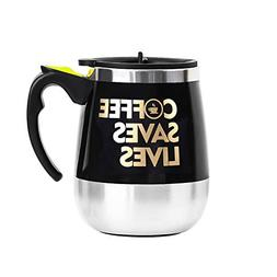 Update Self Stirring Mug Auto Self Mixing Stainless Steel Cu