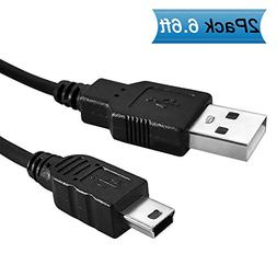 USB Data Cable for Canon Powershot ELPH 180 190,Sony / Nikon