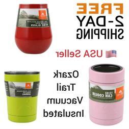 Ozark Trail Vacuum Insulated Mug Coffee Can Cooler Wine Trav
