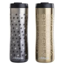 Aladdin Vacuum Insulated Stainless Steel Mug, 16oz, Gold Nor