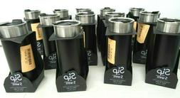 Vacuum Insulated Stainless Steel Travel Mug 16oz Coffee Blac
