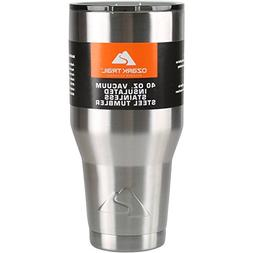 Ozark Trail 40 oz Vacuum Insulated Stainless Steel Tumbler F