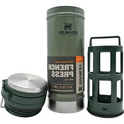Stanley Vacuum Travel Press - 16 Ounce - Hammertone Green -