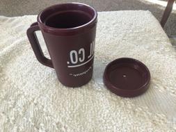 NEW Vtg 20 oz Aladdin Insulated Travel Mug Cup Tumbler Payne