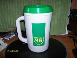 Vintage Aladdin 20 OZ BP Gas Oil Insulated Travel Coffee Mug