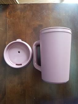Vintage Insulated Aladdin Drink Travel Mug Mauve Pink 20oz R