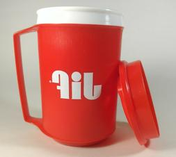 Vintage Jif Aladdin Insulated 12 Oz Travel Mug Cup Tumbler R
