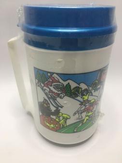 Vintage Phillips 66 Gas Aladdin Coffee  Mug Plastic Cup Trav