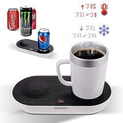Warmer & Cooler Desktop Smart Cup, V-joy 2-in-1 Desktop Cool