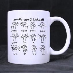 "White Coffee Mug - Funny Cute Math Mathematic Expressions ""B"