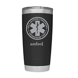 YETI Rambler First Responder Design w/Custom Name Design Las