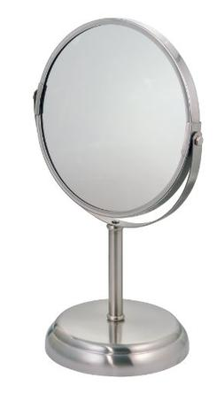 InterDesign York Metal Free Standing Vanity Makeup Mirror fo